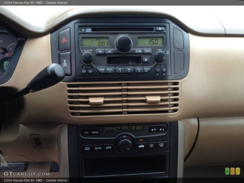 Saddle Interior Audio System for the 2004 Honda Pilot EX 4WD #75797056
