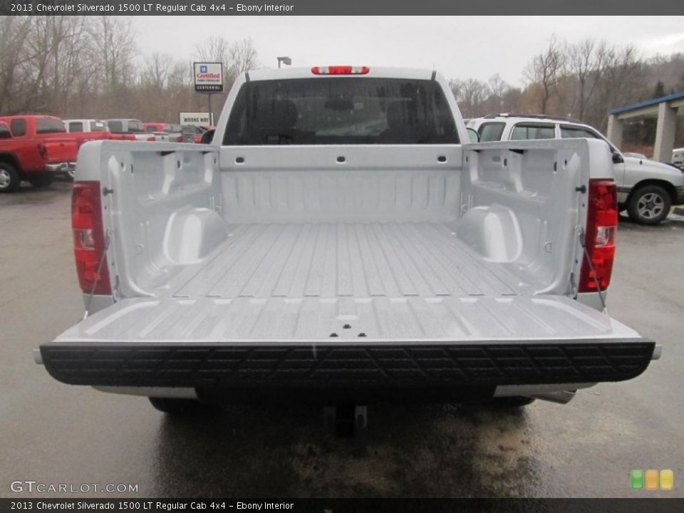 Ebony Interior Trunk for the 2013 Chevrolet Silverado 1500 LT Regular Cab 4x4 #75814222