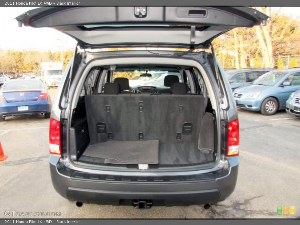 Black Interior Trunk for the 2011 Honda Pilot LX 4WD #75821526