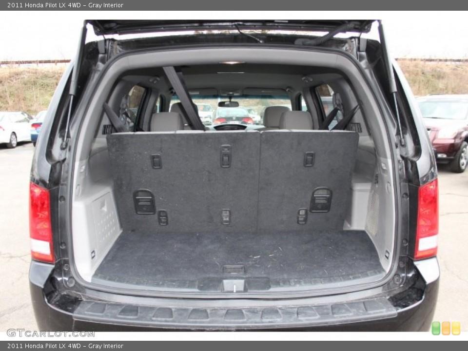 Gray Interior Trunk for the 2011 Honda Pilot LX 4WD #75868486