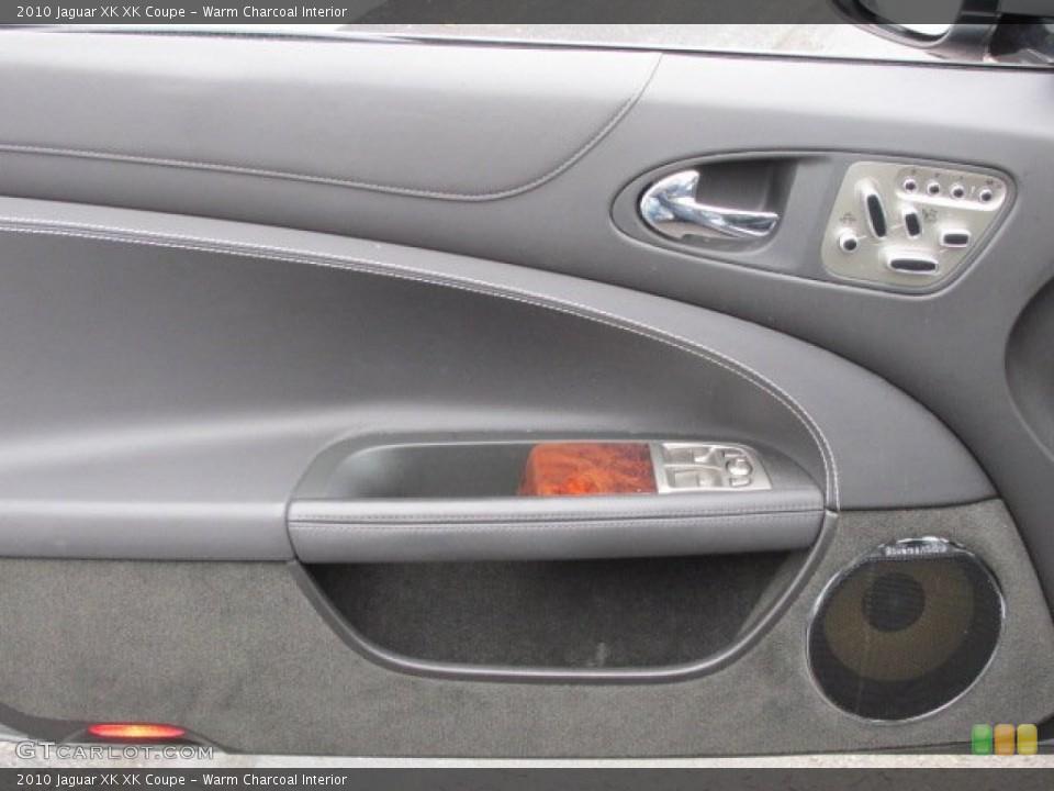 Warm Charcoal Interior Door Panel for the 2010 Jaguar XK XK Coupe #75969031