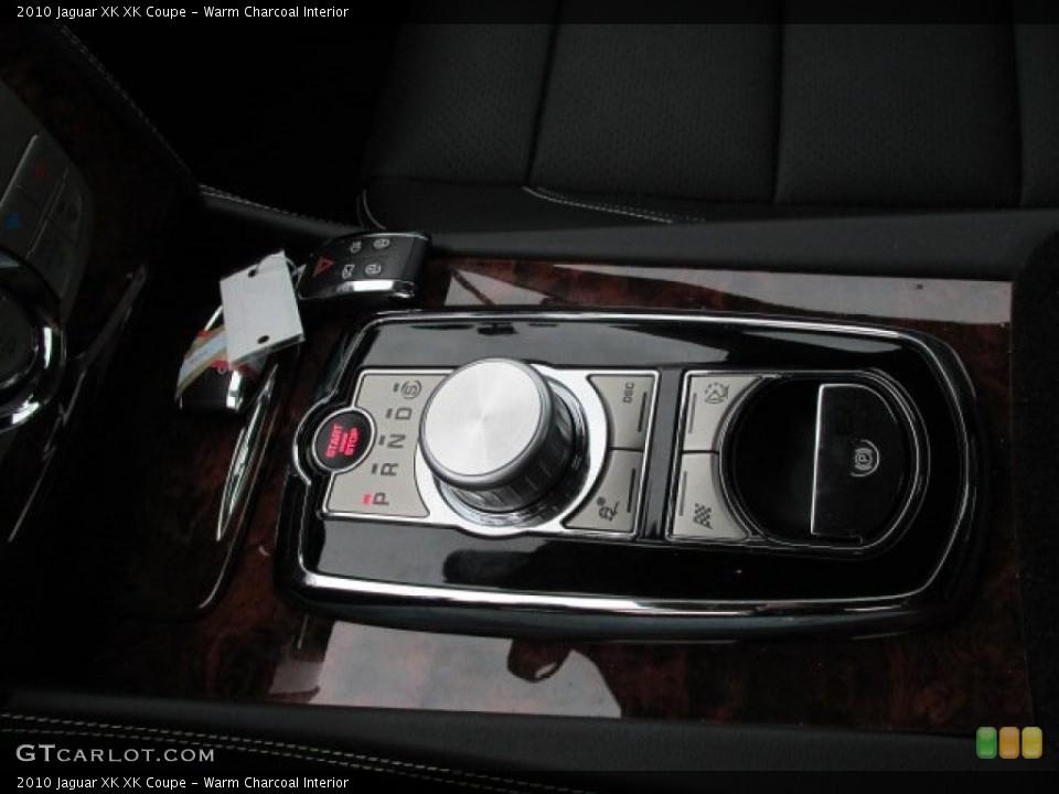 Warm Charcoal Interior Transmission for the 2010 Jaguar XK XK Coupe #75969118