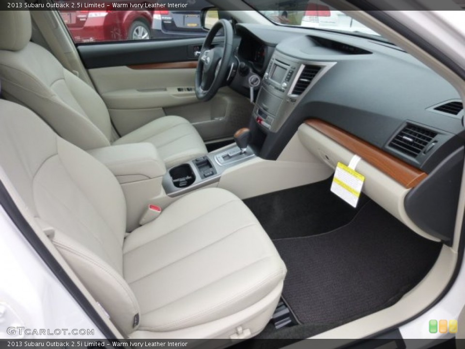 Warm ivory leather interior photo for the 2013 subaru outback limited 75994489 for Subaru outback leather interior