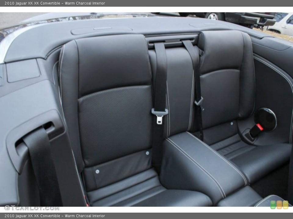 Warm Charcoal Interior Rear Seat for the 2010 Jaguar XK XK Convertible #76083410