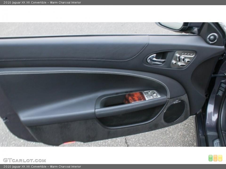 Warm Charcoal Interior Door Panel for the 2010 Jaguar XK XK Convertible #76083447