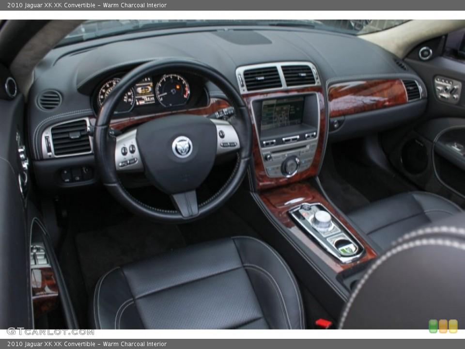 Warm Charcoal Interior Prime Interior for the 2010 Jaguar XK XK Convertible #76083593