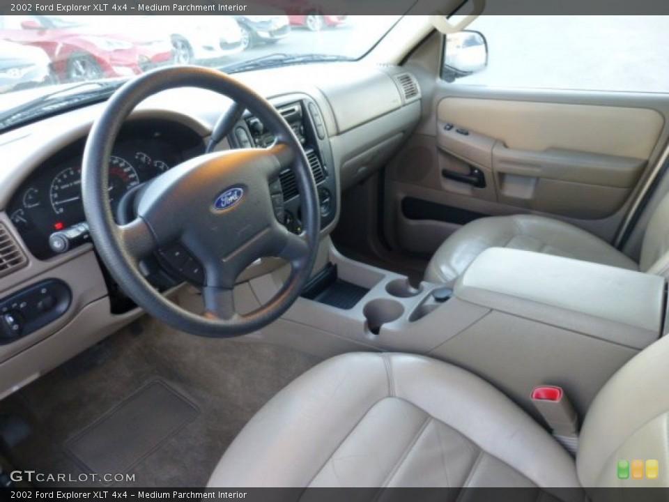 Medium Parchment 2002 Ford Explorer Interiors