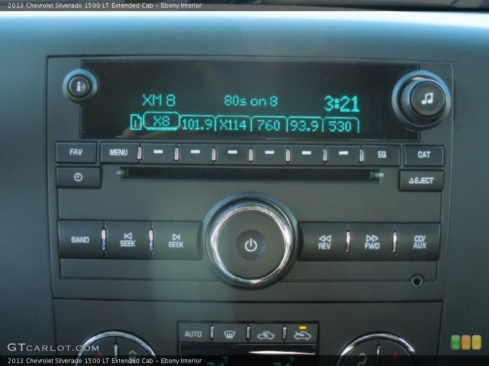 Ebony Interior Audio System for the 2013 Chevrolet Silverado 1500 LT Extended Cab #76245236