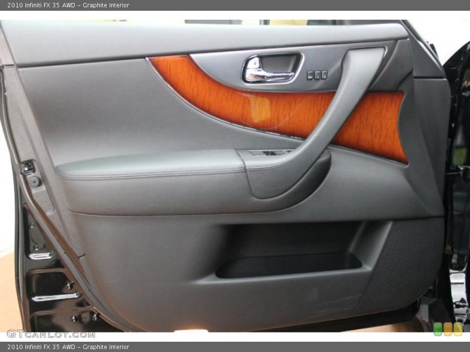 Graphite Interior Door Panel for the 2010 Infiniti FX 35 AWD #76277282