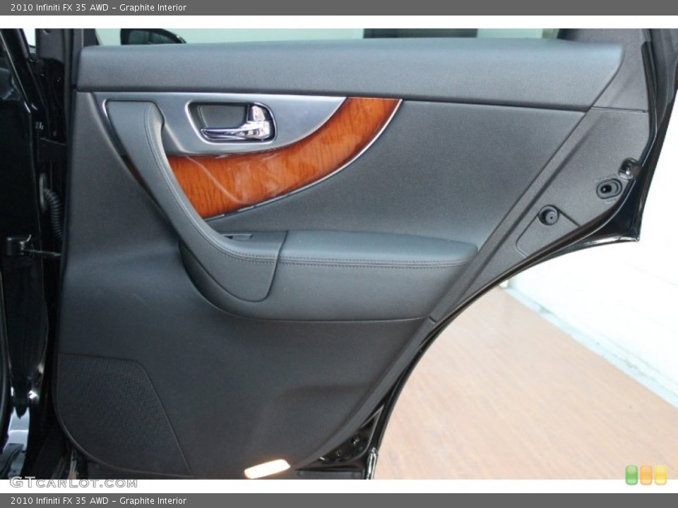 Graphite Interior Door Panel for the 2010 Infiniti FX 35 AWD #76277291