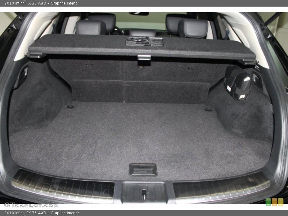 Graphite Interior Trunk for the 2010 Infiniti FX 35 AWD #76277303