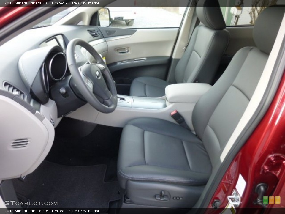 Slate Gray Interior Photo for the 2013 Subaru Tribeca 3.6R Limited #76307648