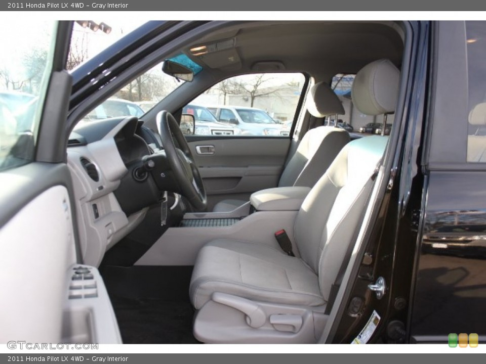 Gray Interior Front Seat for the 2011 Honda Pilot LX 4WD #76320577