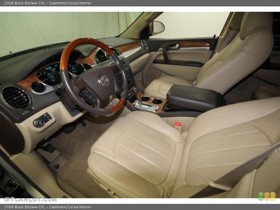 Cashmere/Cocoa 2008 Buick Enclave Interiors