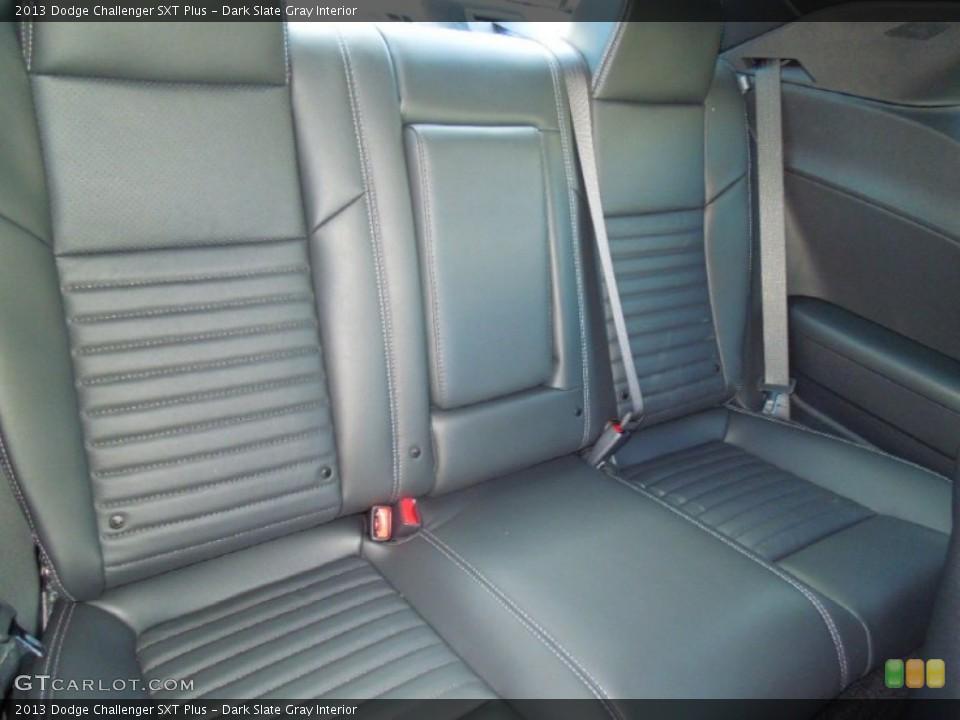 Dark Slate Gray Interior Rear Seat for the 2013 Dodge Challenger SXT Plus #76424907