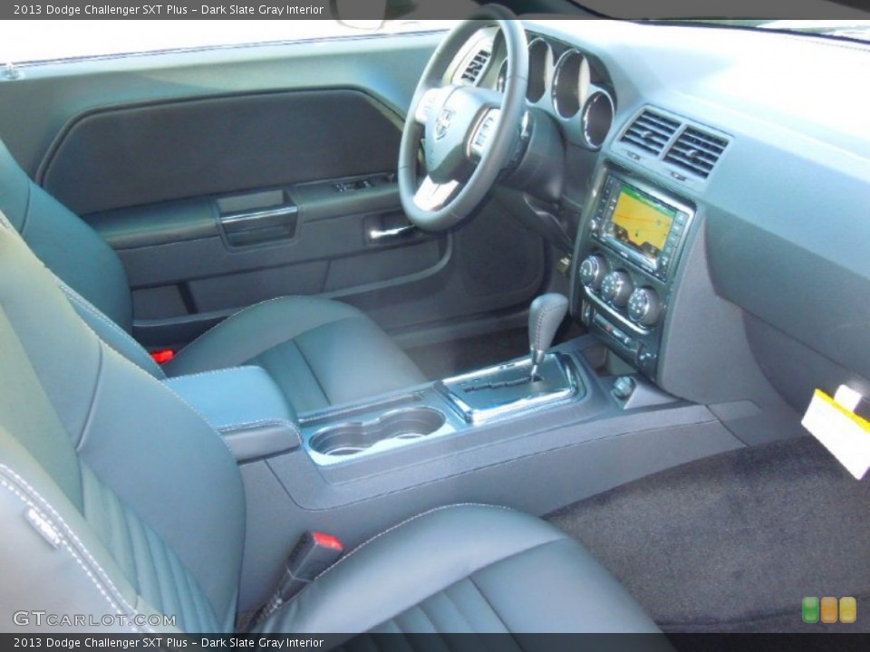 Dark Slate Gray Interior Photo for the 2013 Dodge Challenger SXT Plus #76424958