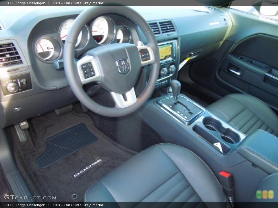 Dark Slate Gray Interior Prime Interior for the 2013 Dodge Challenger SXT Plus #76425003