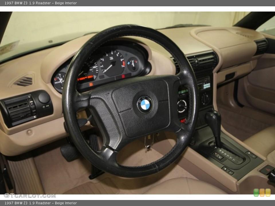 Beige Interior Steering Wheel for the 1997 BMW Z3 1.9 Roadster #76473948