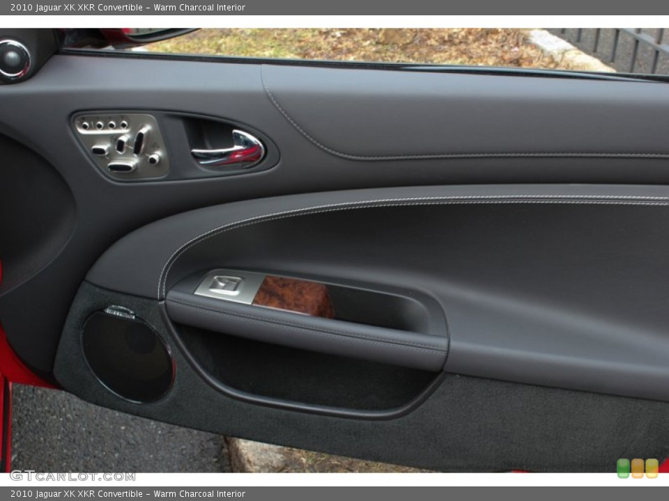 Warm Charcoal Interior Door Panel for the 2010 Jaguar XK XKR Convertible #76567031