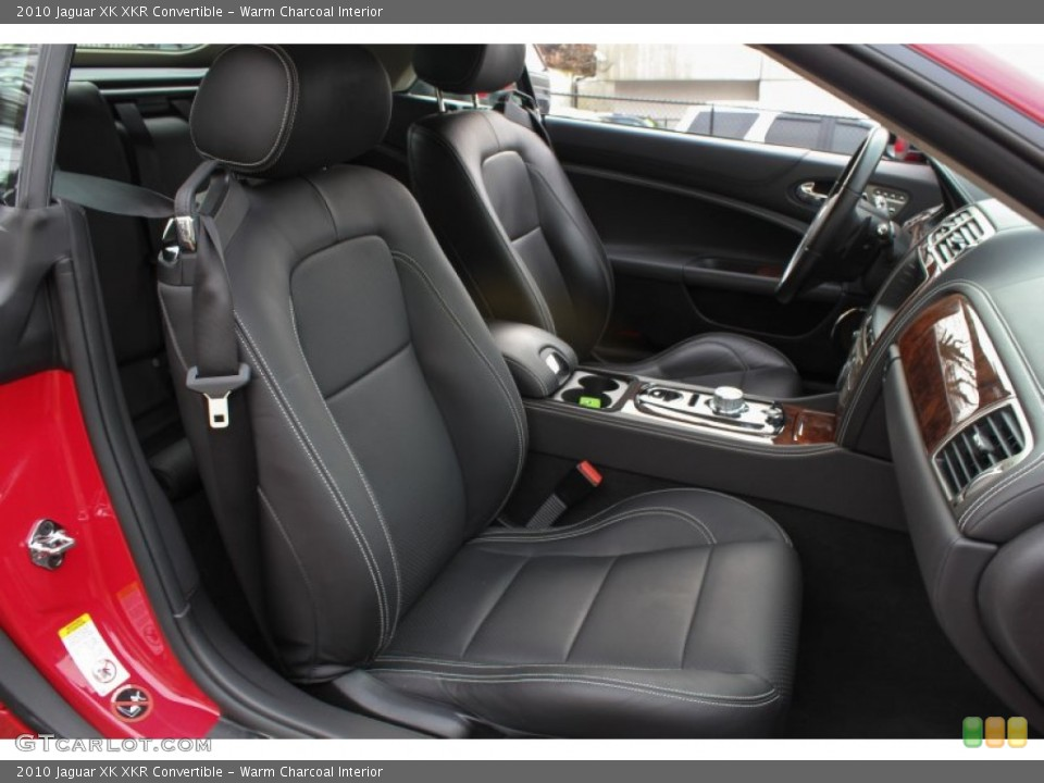 Warm Charcoal Interior Front Seat for the 2010 Jaguar XK XKR Convertible #76567051