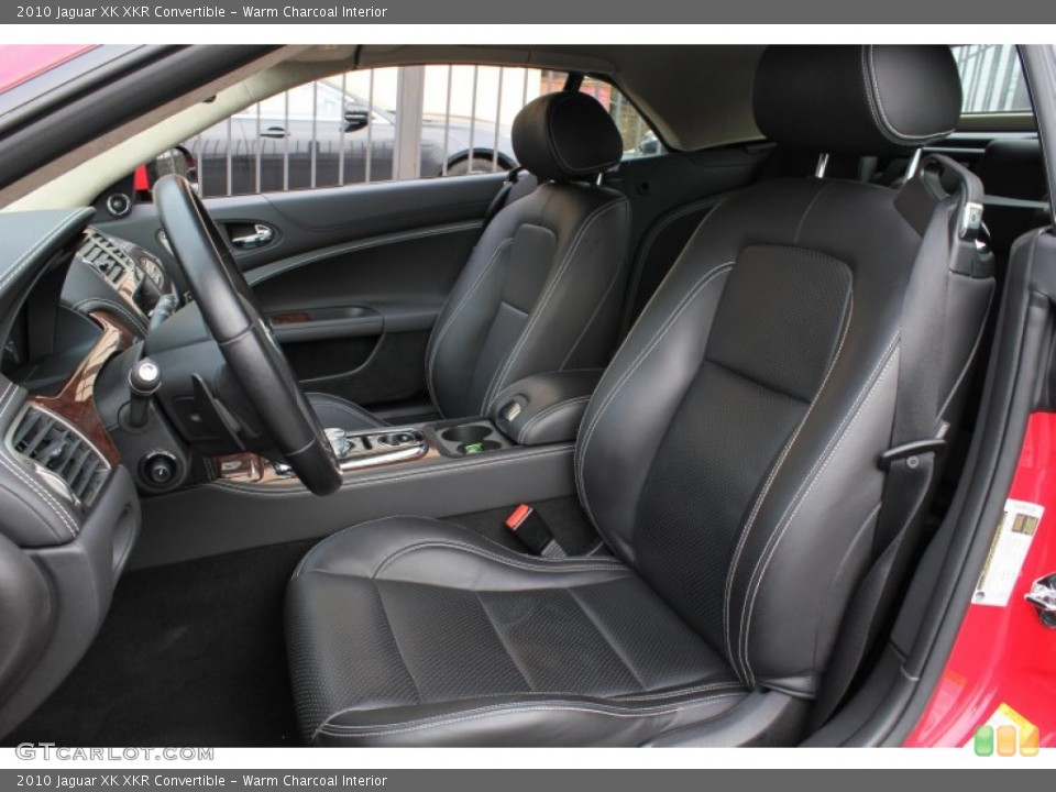 Warm Charcoal Interior Photo for the 2010 Jaguar XK XKR Convertible #76567136