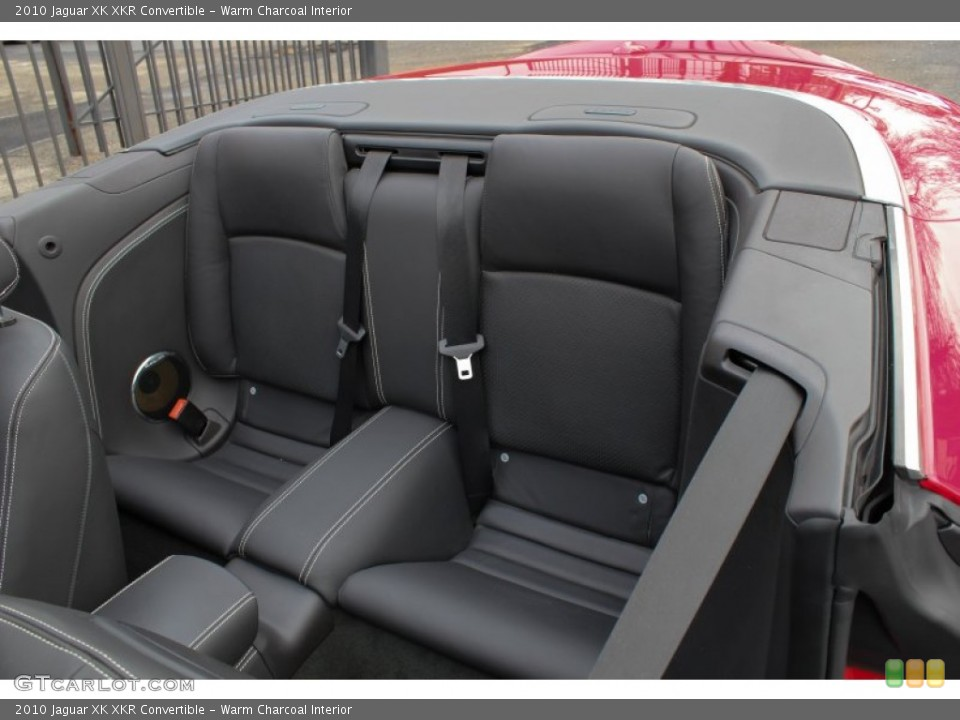 Warm Charcoal Interior Rear Seat for the 2010 Jaguar XK XKR Convertible #76567324