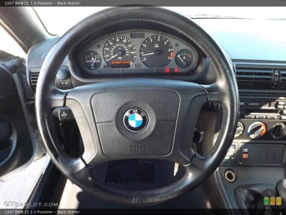 Black Interior Steering Wheel for the 1997 BMW Z3 1.9 Roadster #76834218