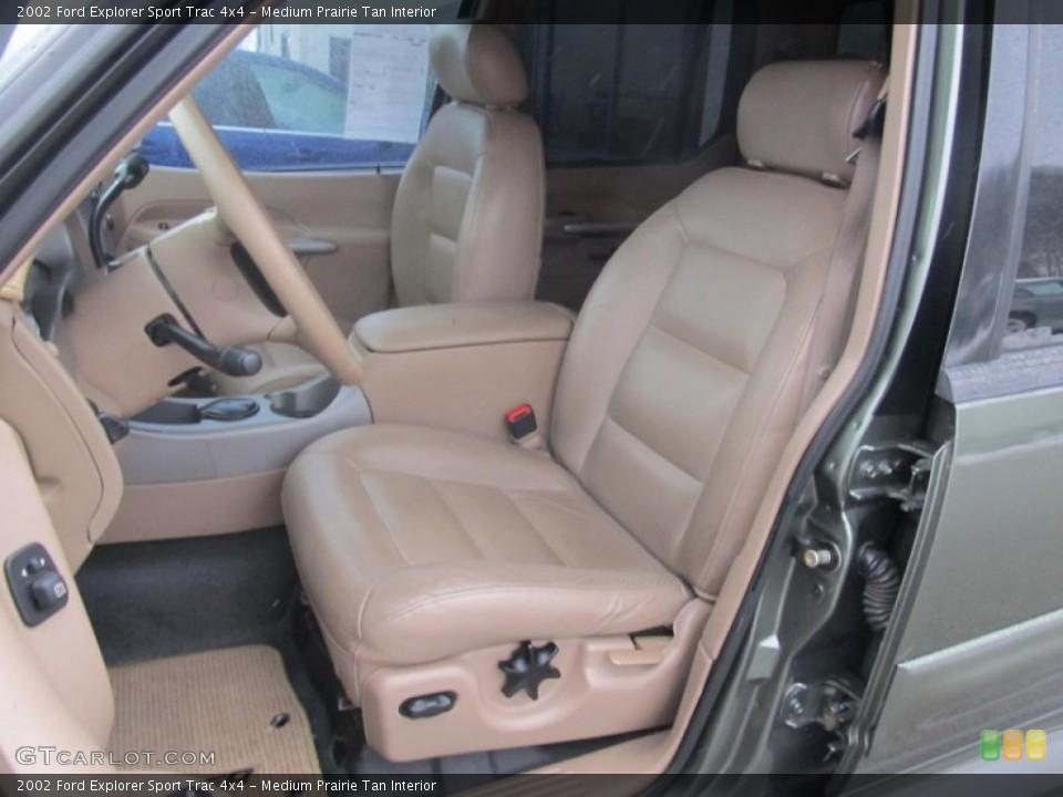 Medium Prairie Tan 2002 Ford Explorer Sport Trac Interiors