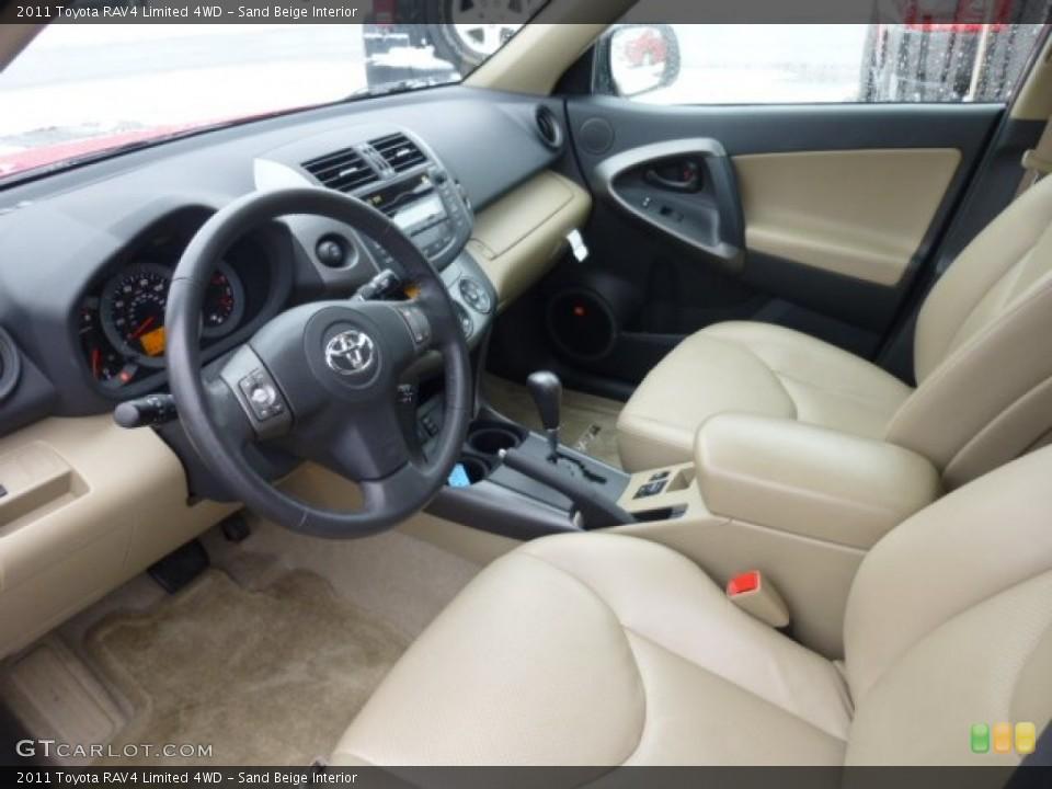 Sand Beige 2011 Toyota RAV4 Interiors