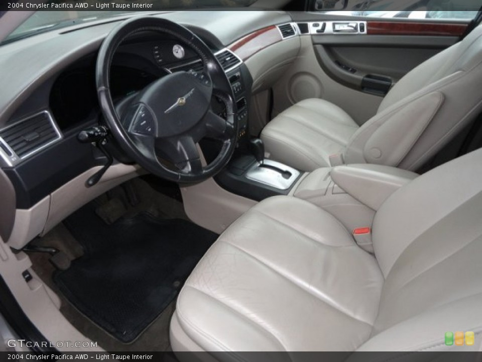 Light Taupe 2004 Chrysler Pacifica Interiors