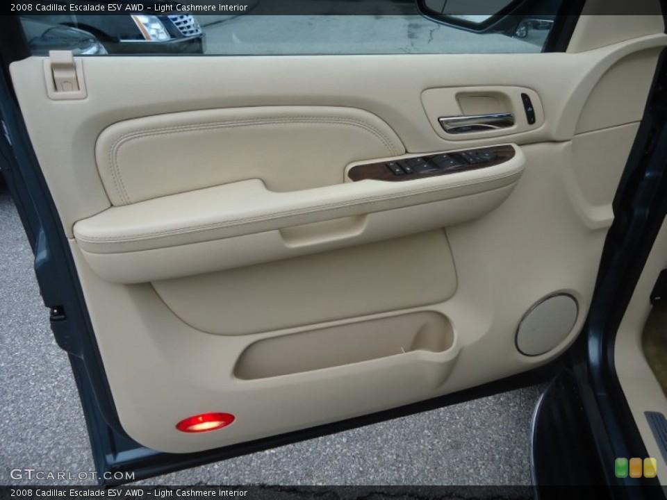 Light Cashmere Interior Door Panel for the 2008 Cadillac Escalade ESV AWD #76898742