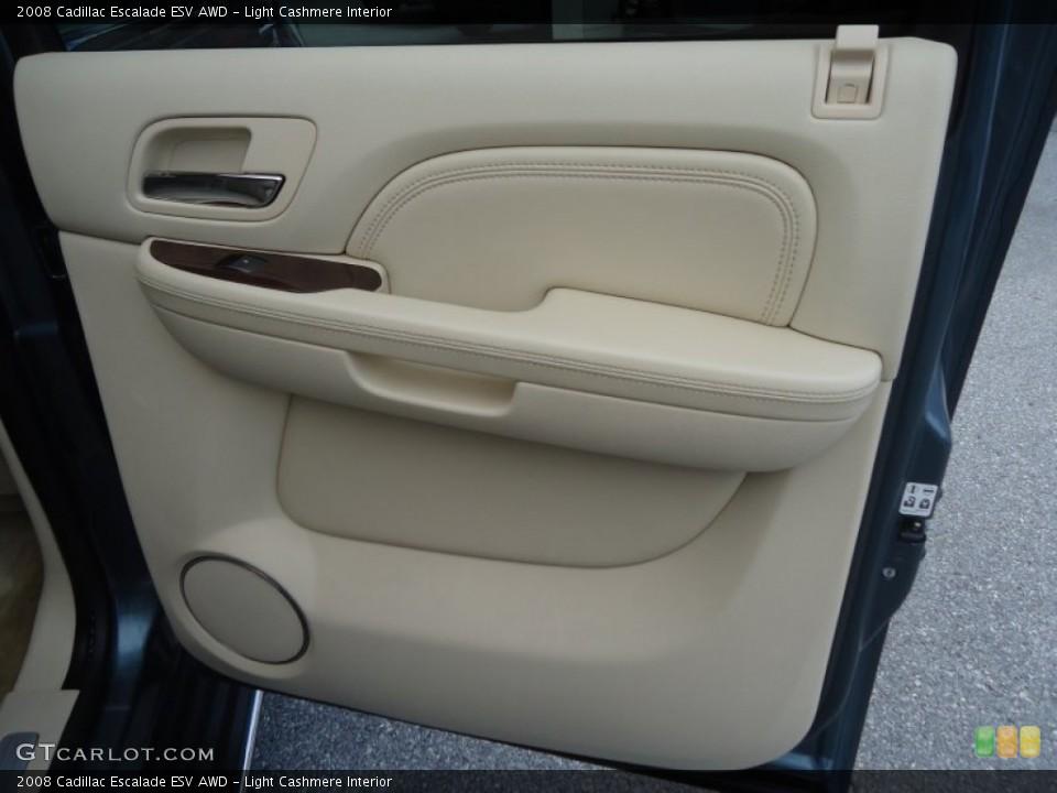 Light Cashmere Interior Door Panel for the 2008 Cadillac Escalade ESV AWD #76898772