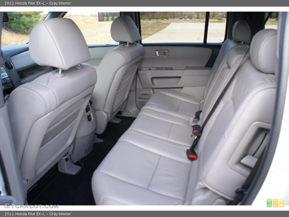 Gray Interior Rear Seat for the 2011 Honda Pilot EX-L #76992944
