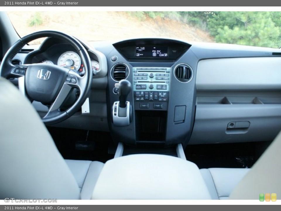 Gray Interior Dashboard for the 2011 Honda Pilot EX-L 4WD #76993469