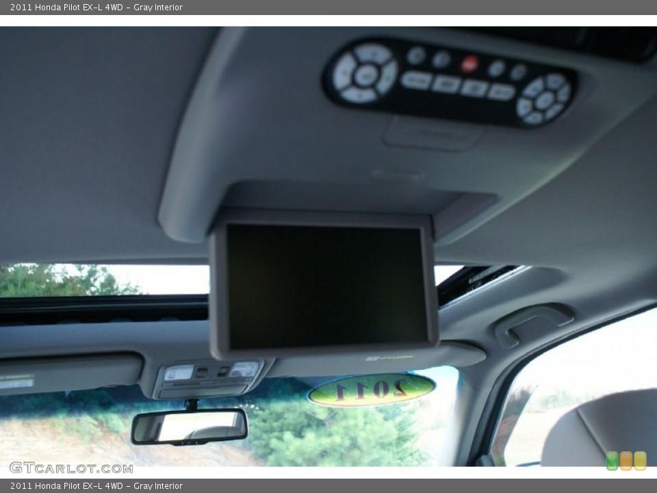 Gray Interior Entertainment System for the 2011 Honda Pilot EX-L 4WD #76993674