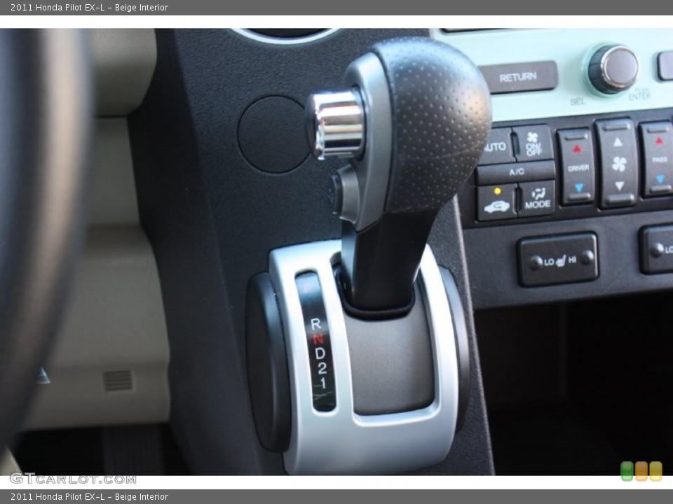 Beige Interior Transmission for the 2011 Honda Pilot EX-L #76998648