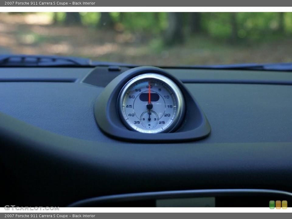 Black Interior Gauges for the 2007 Porsche 911 Carrera S Coupe #77016885