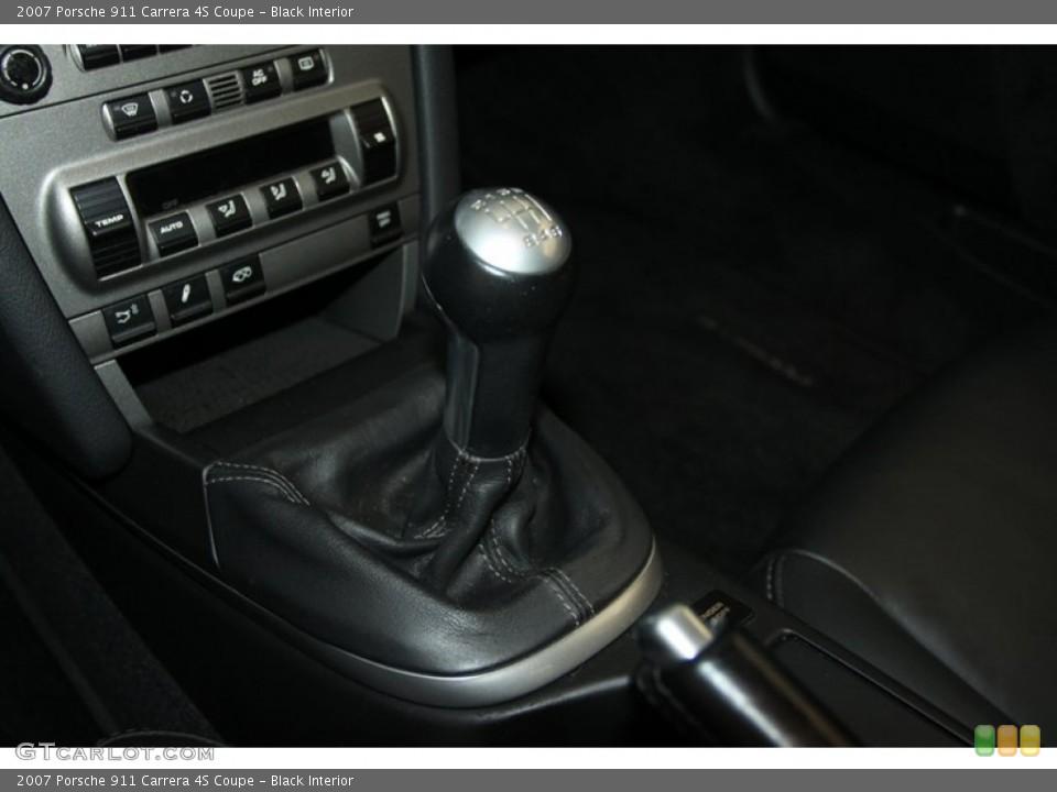 Black Interior Transmission for the 2007 Porsche 911 Carrera 4S Coupe #77024967