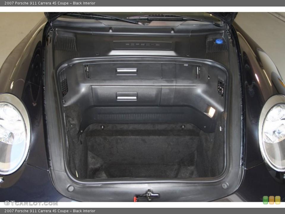 Black Interior Trunk for the 2007 Porsche 911 Carrera 4S Coupe #77025247