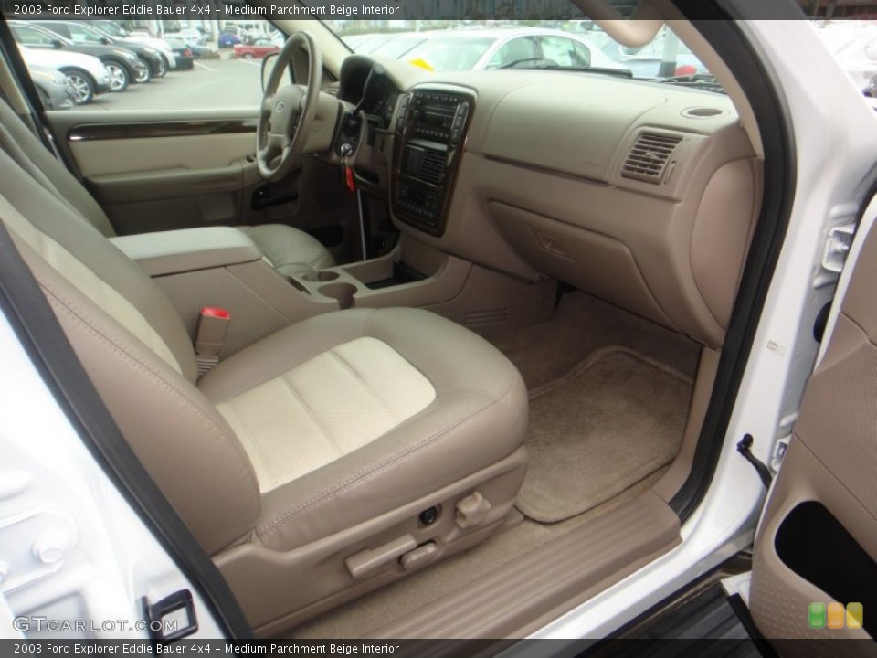 Medium Parchment Beige Interior Photo for the 2003 Ford Explorer Eddie Bauer 4x4 #77119886