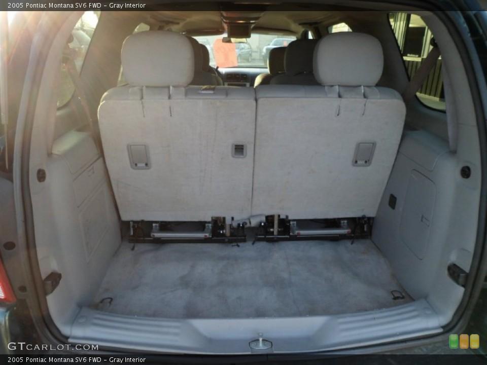 Gray Interior Trunk for the 2005 Pontiac Montana SV6 FWD #77132905