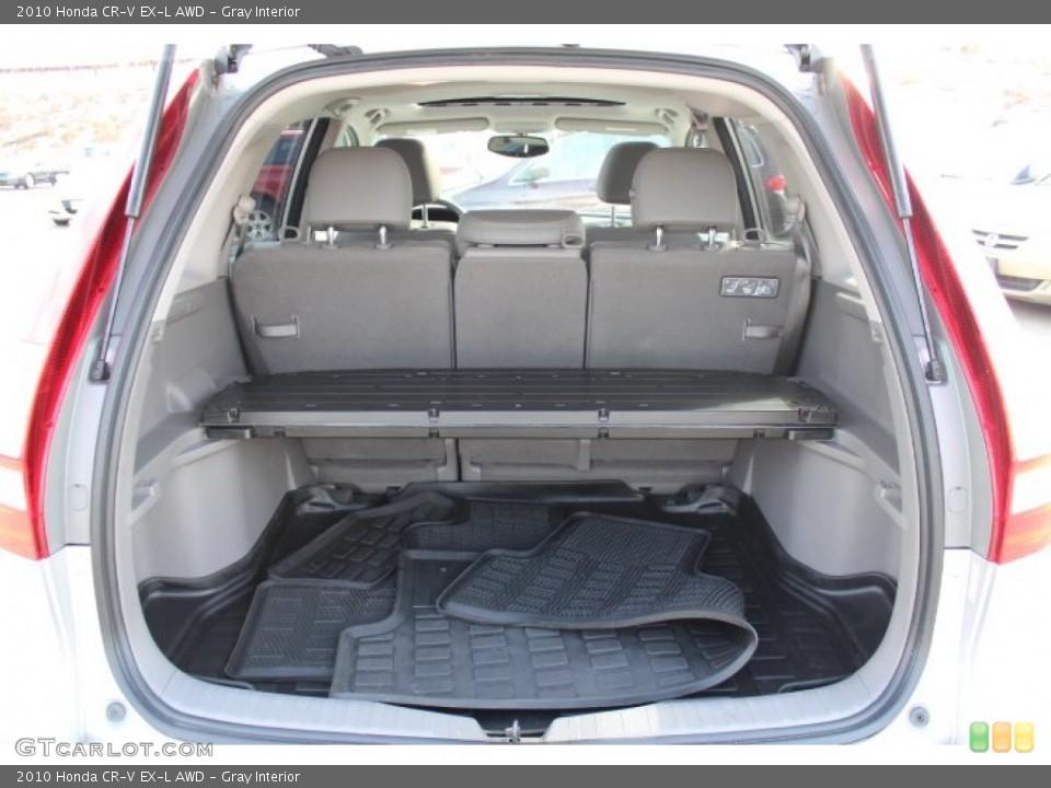 Gray Interior Trunk for the 2010 Honda CR-V EX-L AWD #77172302