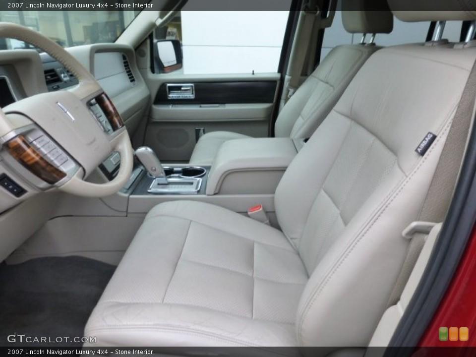 Stone 2007 Lincoln Navigator Interiors
