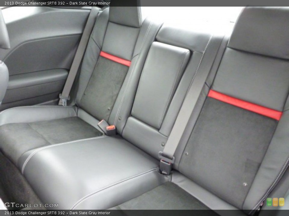 Dark Slate Gray Interior Rear Seat for the 2013 Dodge Challenger SRT8 392 #77260892