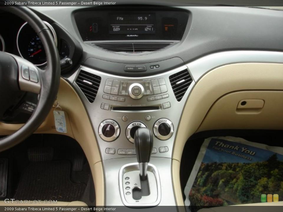 Desert Beige Interior Controls for the 2009 Subaru Tribeca Limited 5 Passenger #77297982
