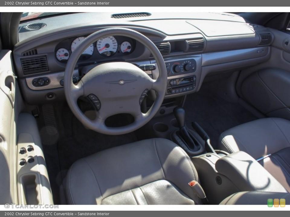 Sandstone 2002 Chrysler Sebring Interiors