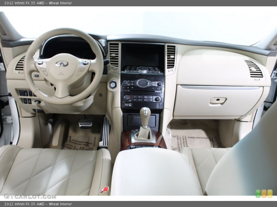 Wheat Interior Dashboard for the 2012 Infiniti FX 35 AWD #77586687