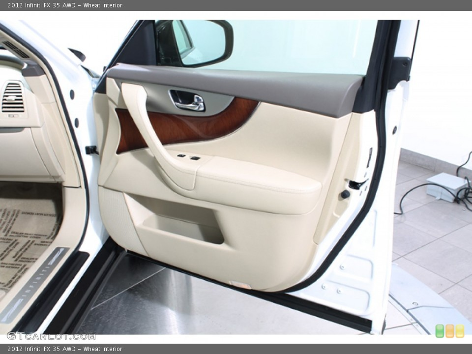 Wheat Interior Door Panel for the 2012 Infiniti FX 35 AWD #77586810