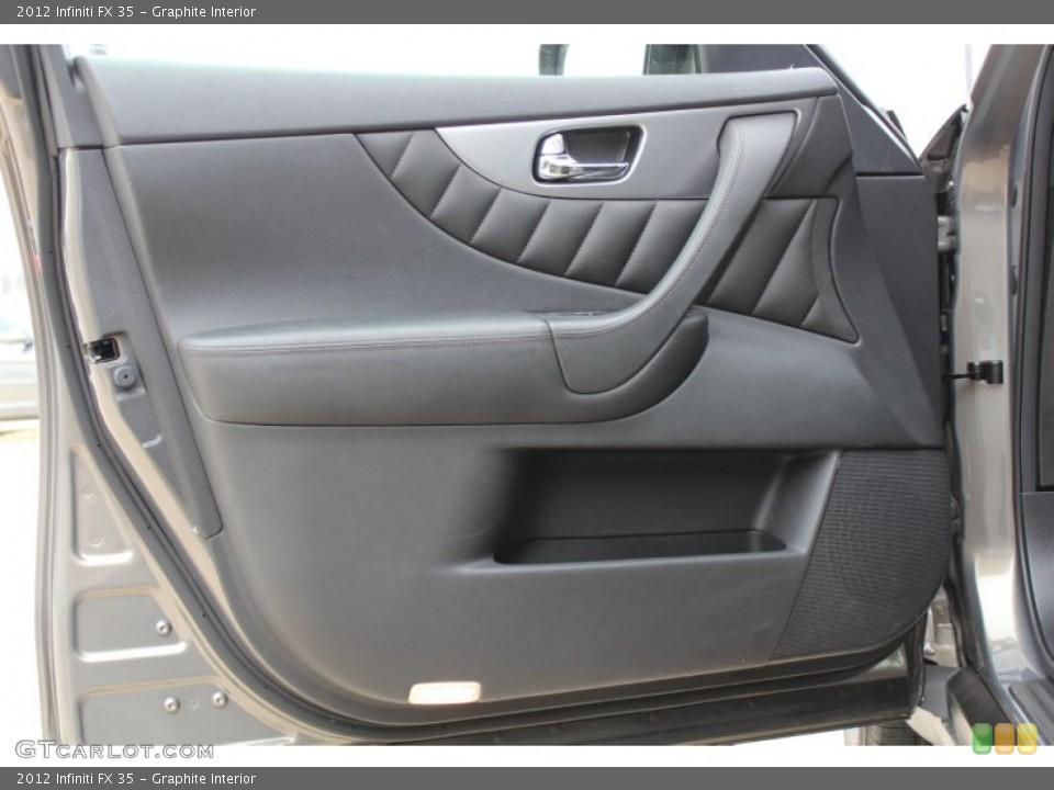 Graphite Interior Door Panel for the 2012 Infiniti FX 35 #77600972