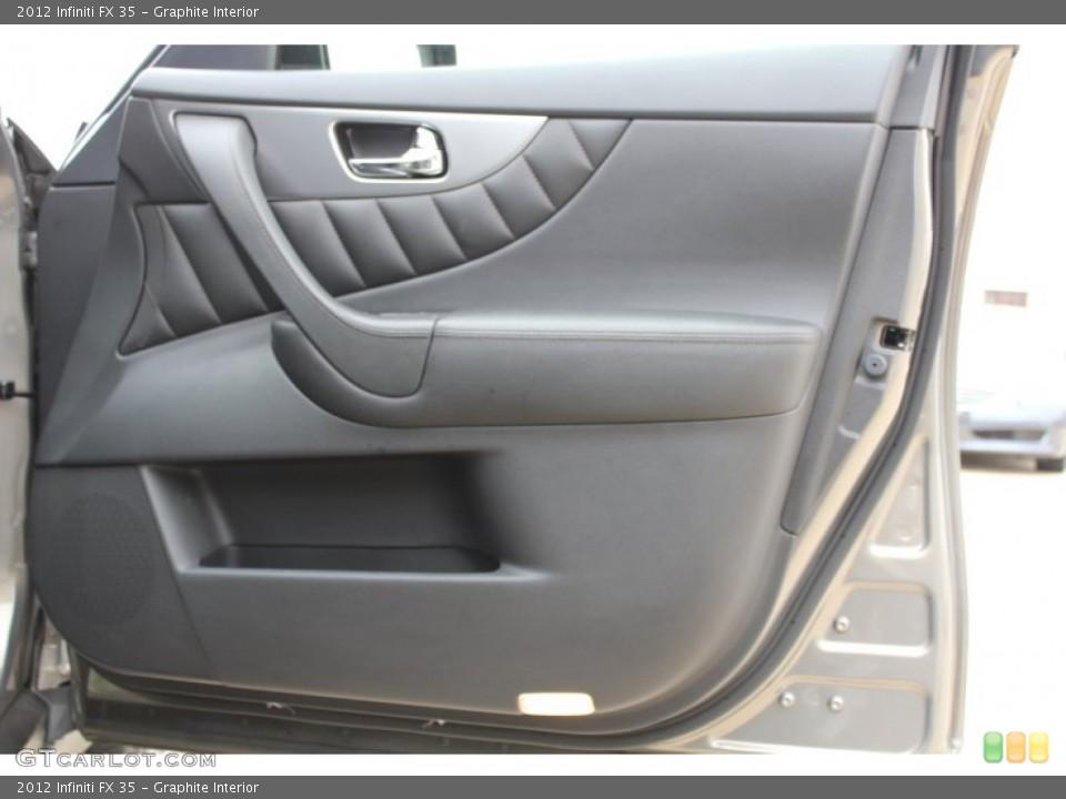 Graphite Interior Door Panel for the 2012 Infiniti FX 35 #77601006